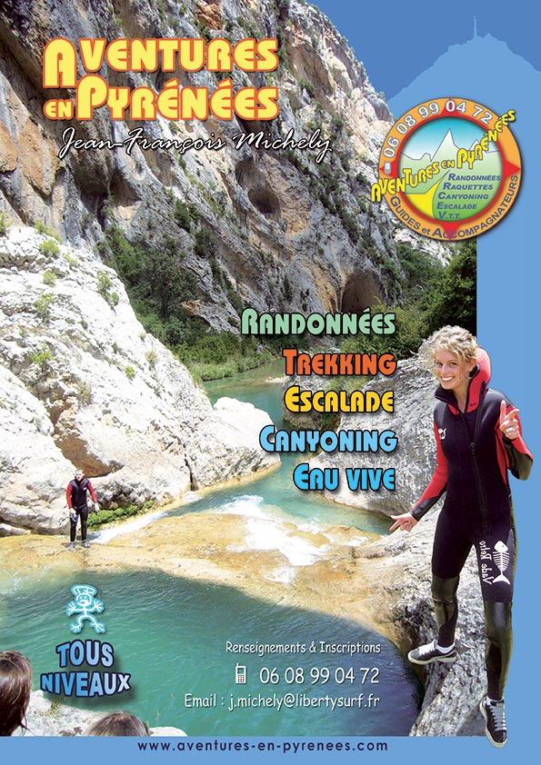 Canyoning tous niveaux